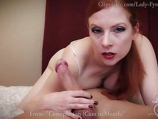 Greater amount blowjobs by lady fyre